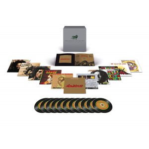 BOB MARLEY & THE WAILERS-THE COMPLETE ISLAND CD BOX SET (11CD PACKAGE)