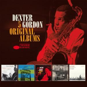 DEXTER GORDON-5 ORIGINAL ALBUMS
