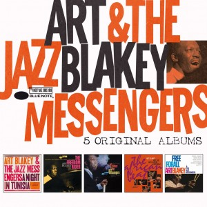 ART BLAKEY & THE JAZZ MESSENGERS-5 ORIGINAL ALBUMS