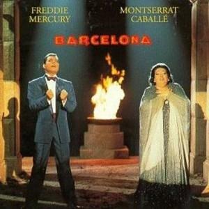 FREDDIE MERCURY, MONTSERRAT CABALLÉ-BARCELONA