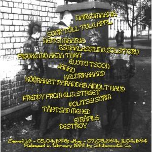 SHITHEADS-THE SHITHEADS SHITTINGS SONGS