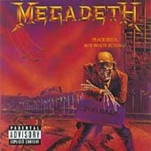 MEGADETH-PEACE SELLS...BUT WHO´S BUYING?