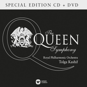 TOLGA KASHIF, ROYAL PHILHARMONIC ORCHESTRA-THE QUEEN SYMPHONY CD/DVD