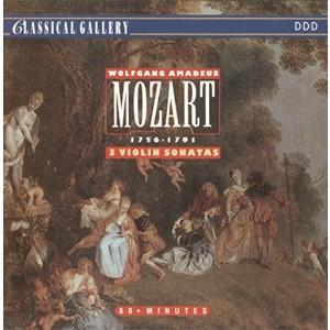 MOZART, W.A.-SONATAS FOR VIOLIN & PIAN