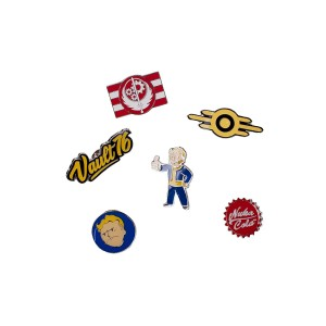 FALLOUT 76 PIN BADGE SET