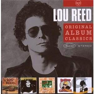 LOU REED-ORIGINAL ALBUM CLASSICS (5CD)