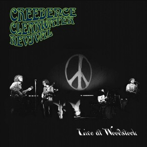 CREEDENCE CLEARWATER REVIVAL-LIVE AT WOODSTOCK