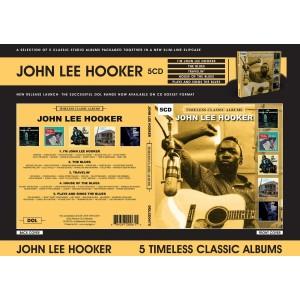 JOHN LEE HOOKER-TIMELESS CLASSIC ALBUMS