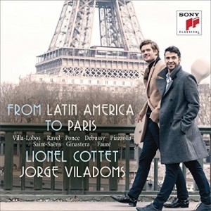 COTTET LIONEL-FROM LATIN AMERICA TO PARIS - WORKS FOR CELLO AND PIANO