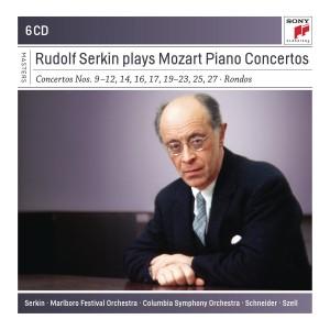 RUDOLF SERKIN-PLAYS MOZART PIANO CONCERTOS