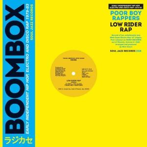 "POOR BOY RAPPERS-LOW RIDER RAP 12"""