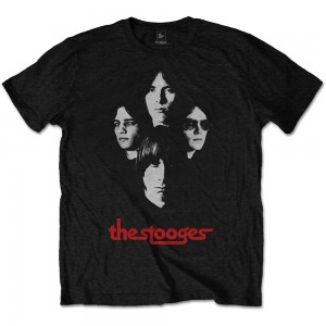 IGGY & THE STOOGES UNISEX TEE: GROUP SHOT L
